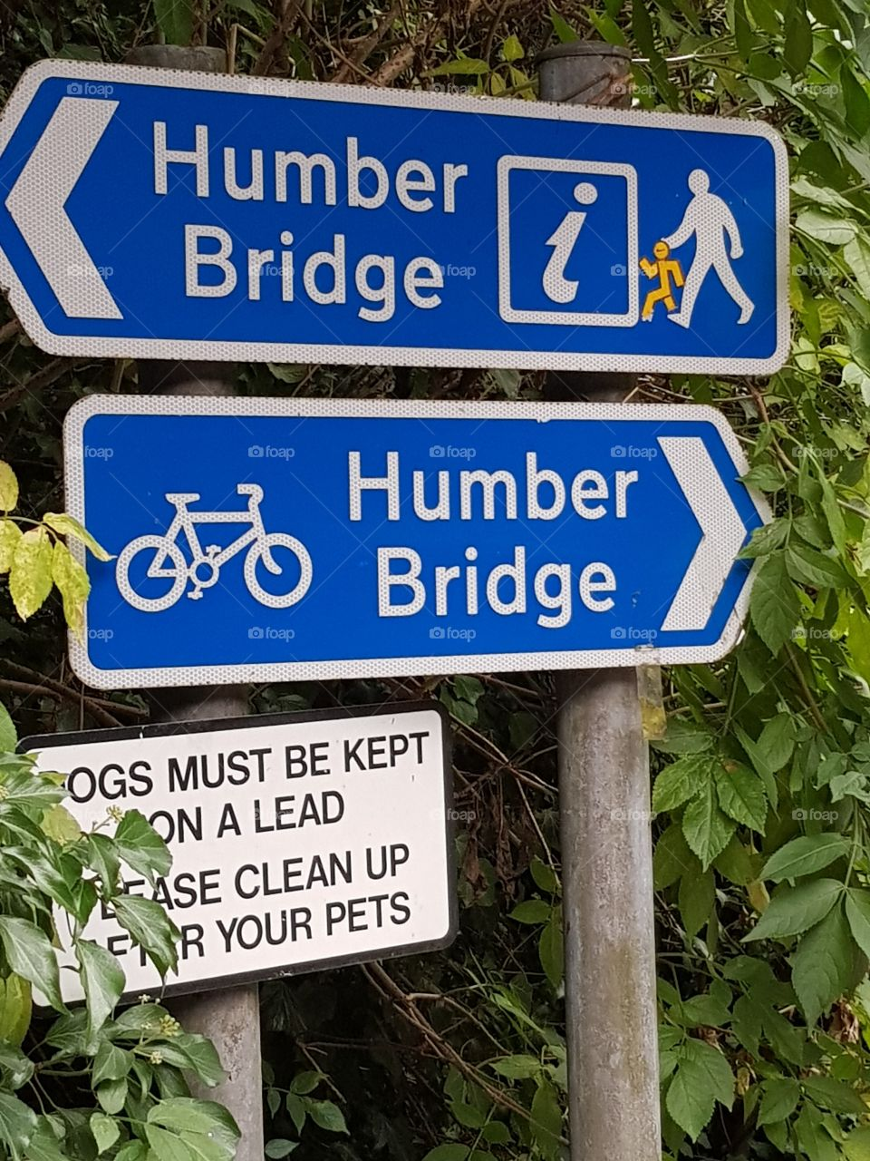 Humber Bridge sign