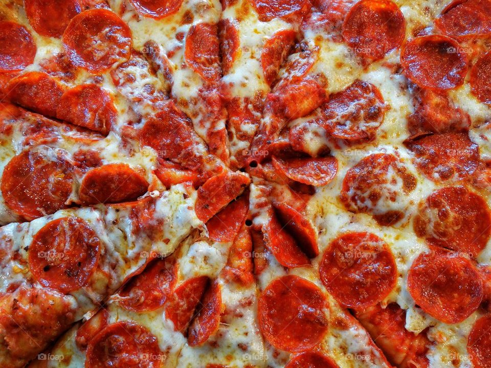 pizza | pepperoni, mozzarella, cheese, dough