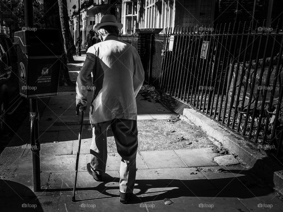 hat and cane