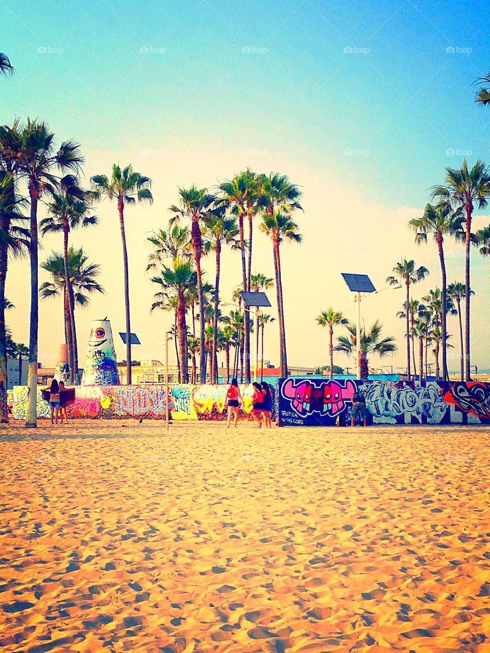 Venice Beach, California graffiti