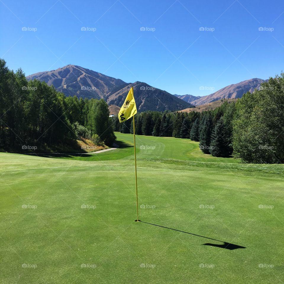 14th Hole, Sun Valley Golf Club, Sun Valley, Idaho