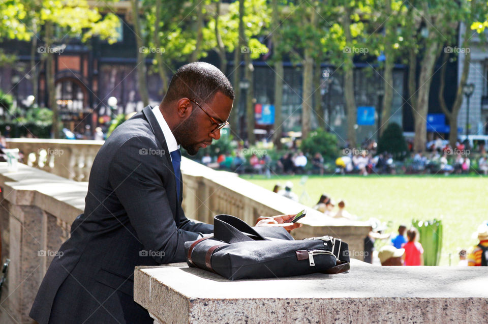 Business man in NYC