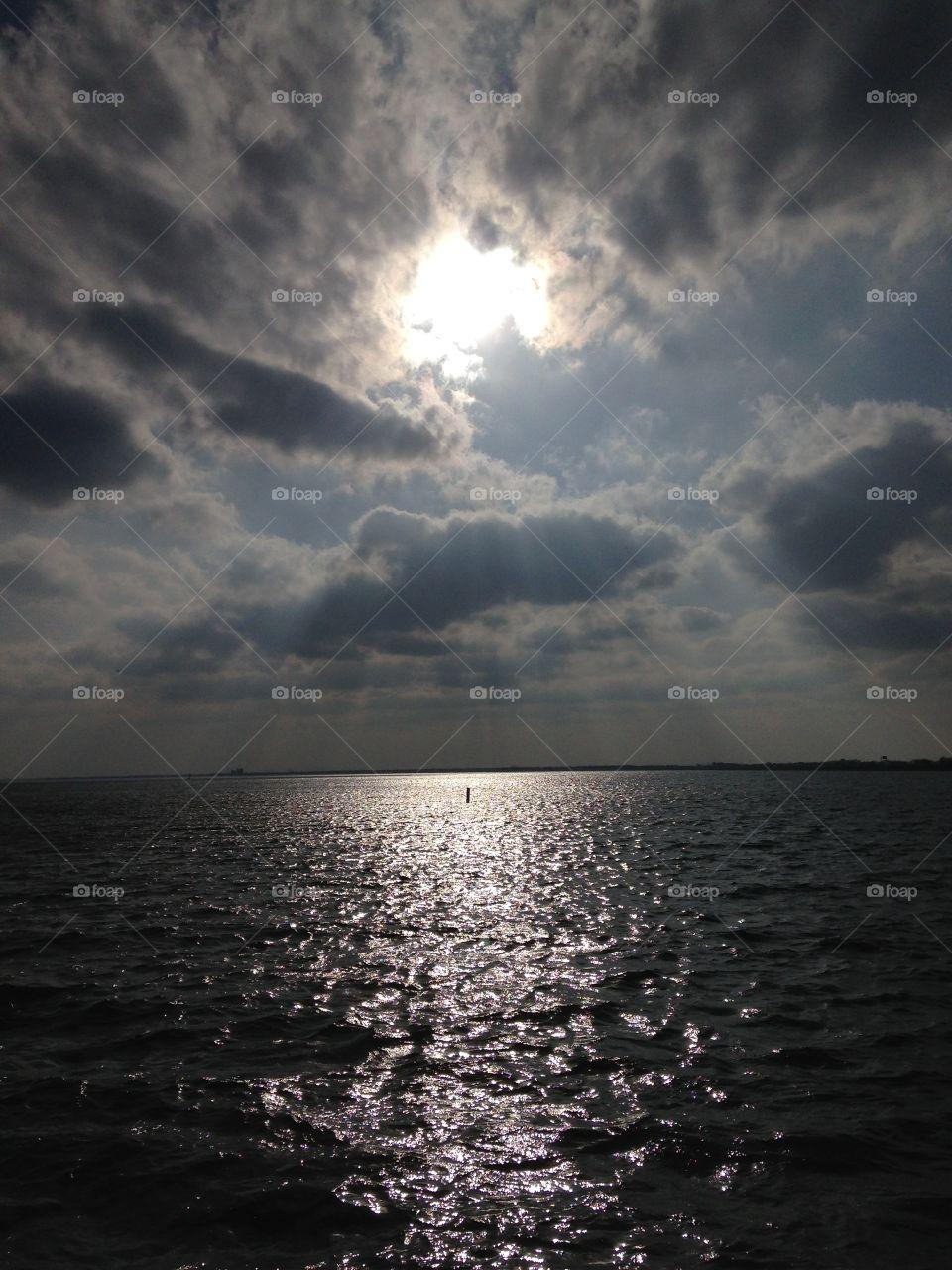 Lake sunset. Lake Ray Hubbard