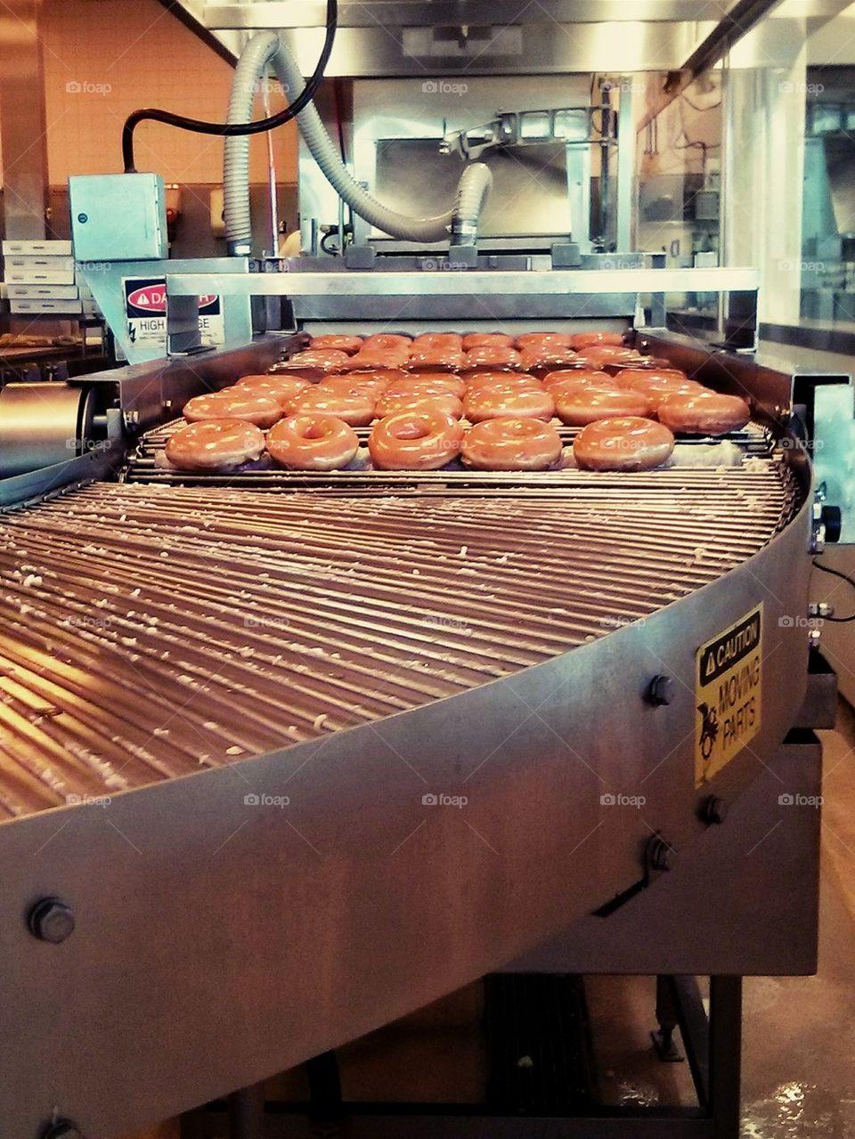 Fresh Krispy Kremes