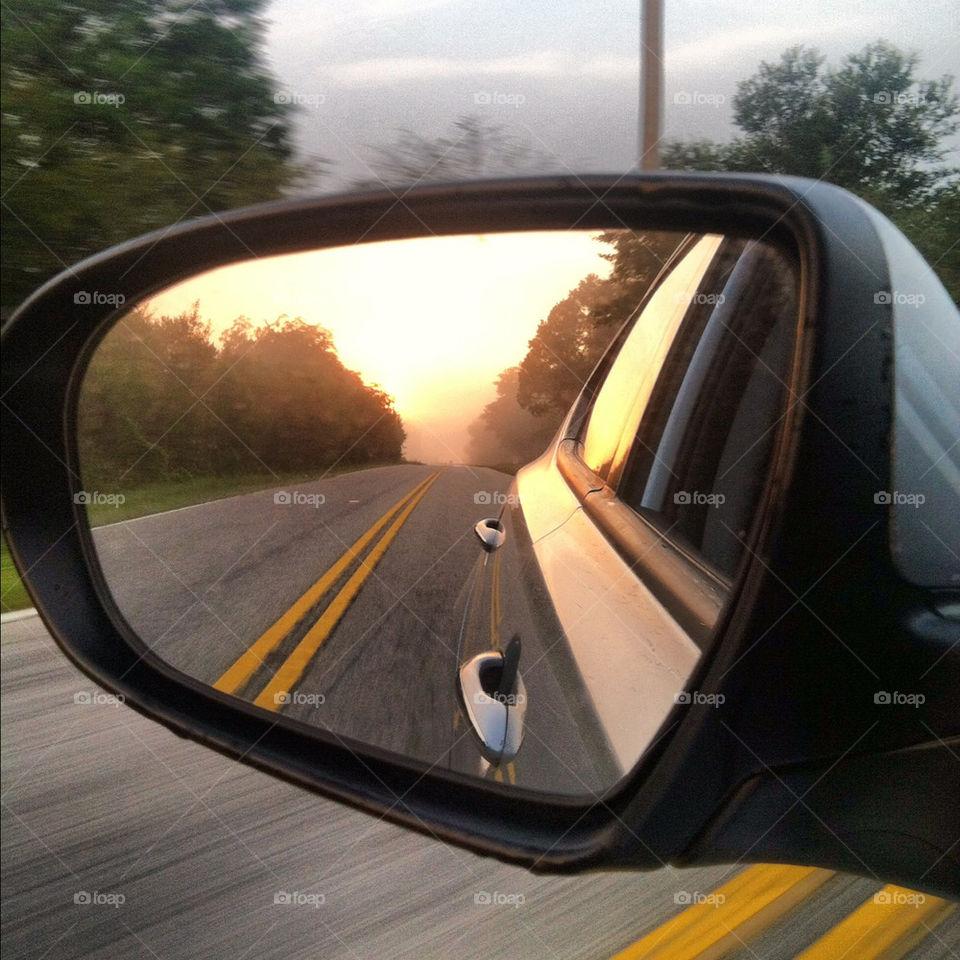 south carolina cars sunrise roads by truthfully_mike