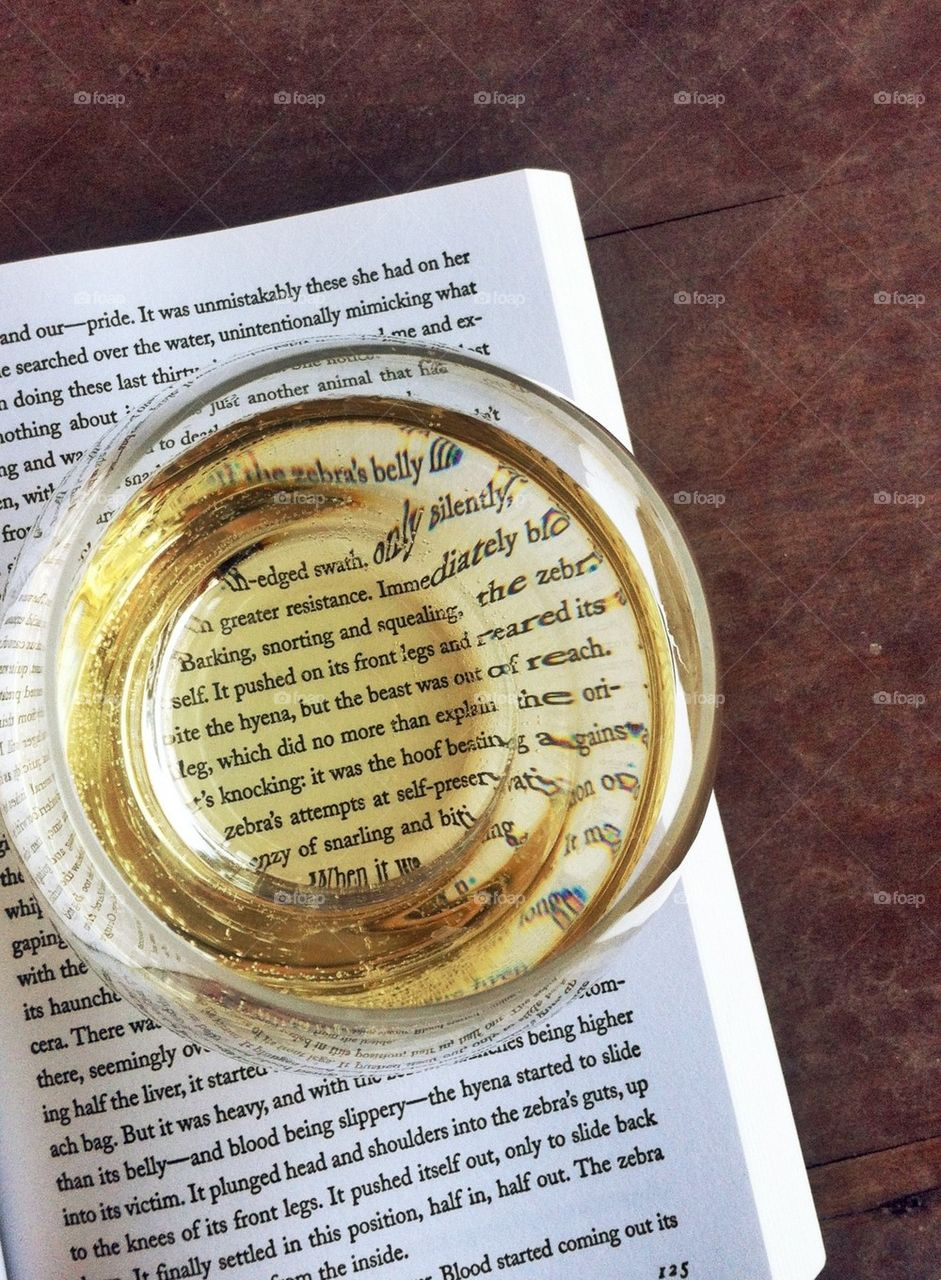Wine and read