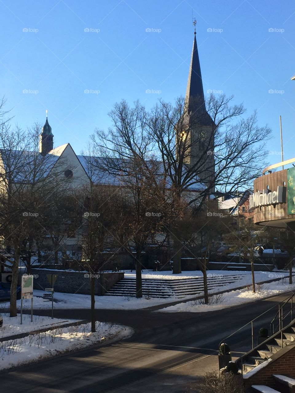Beautiful Cold.  Morbach, Germany