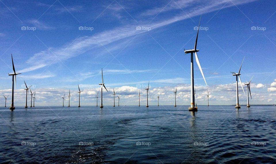 Wind turbine in ses
