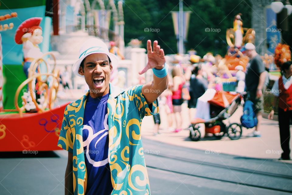 Disney world magic kingdom Orlando Florida USA