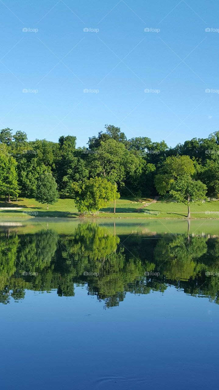 Sevier Lake in Shelby Park, Nashville, TN