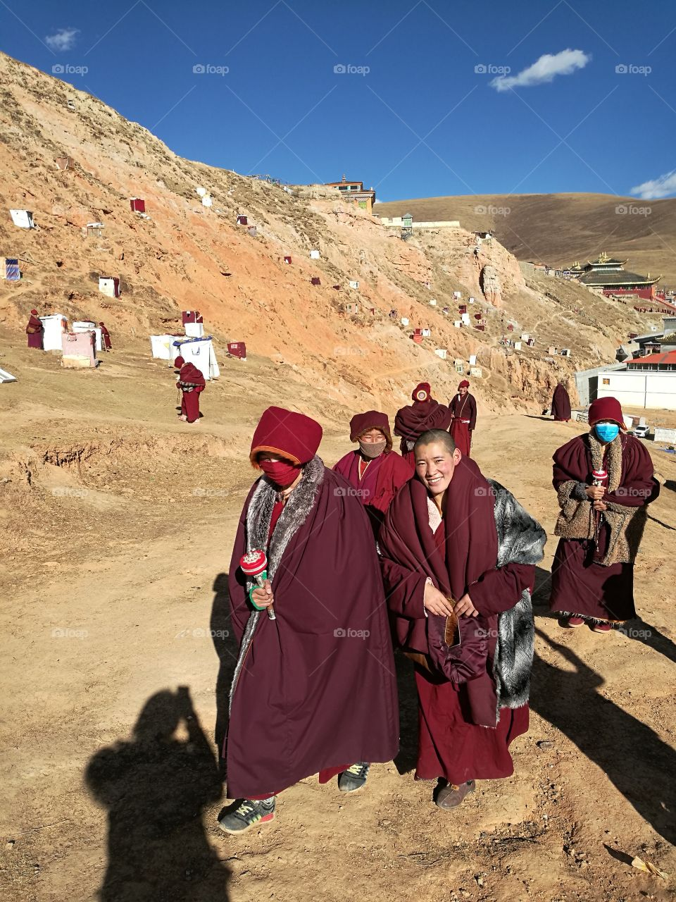 Yaqing Tibetan Buddhist Monastery for Nuns  Buddhism School and Monastery in Ganzi, Sichuan Province, China