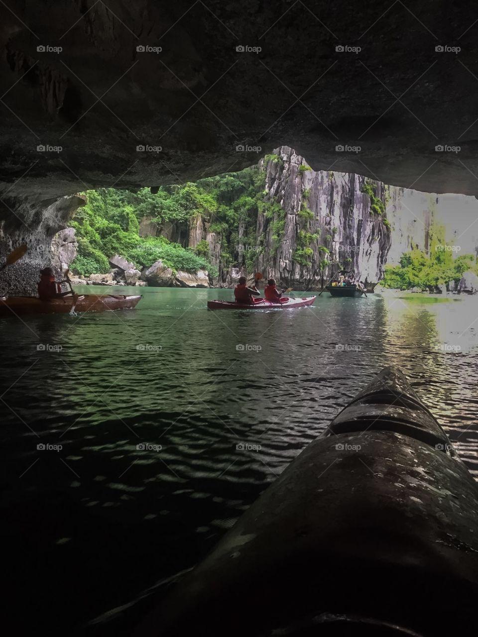 Exploring Halong Bay, Vietnam