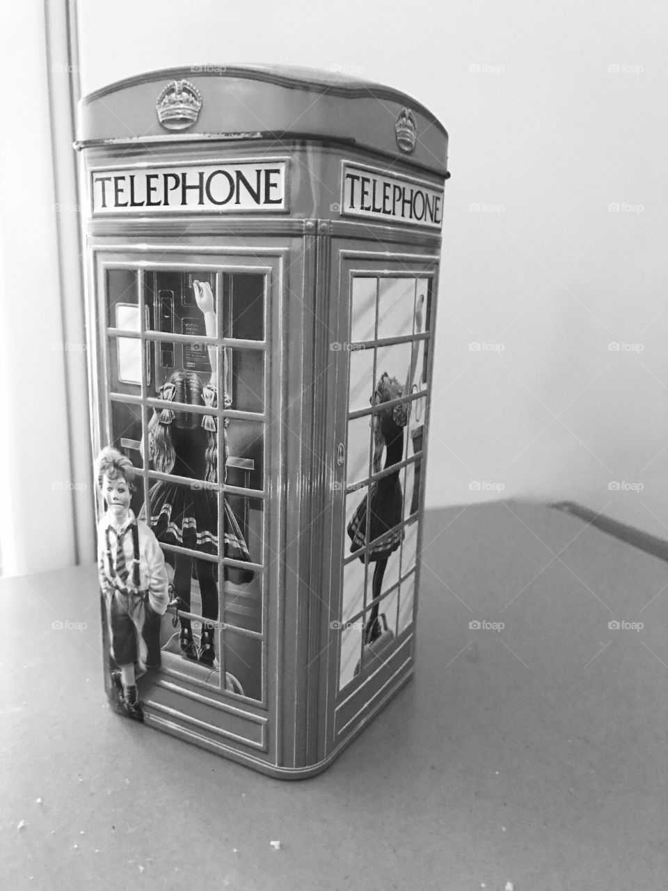 Telephone booth-telephone-sweets