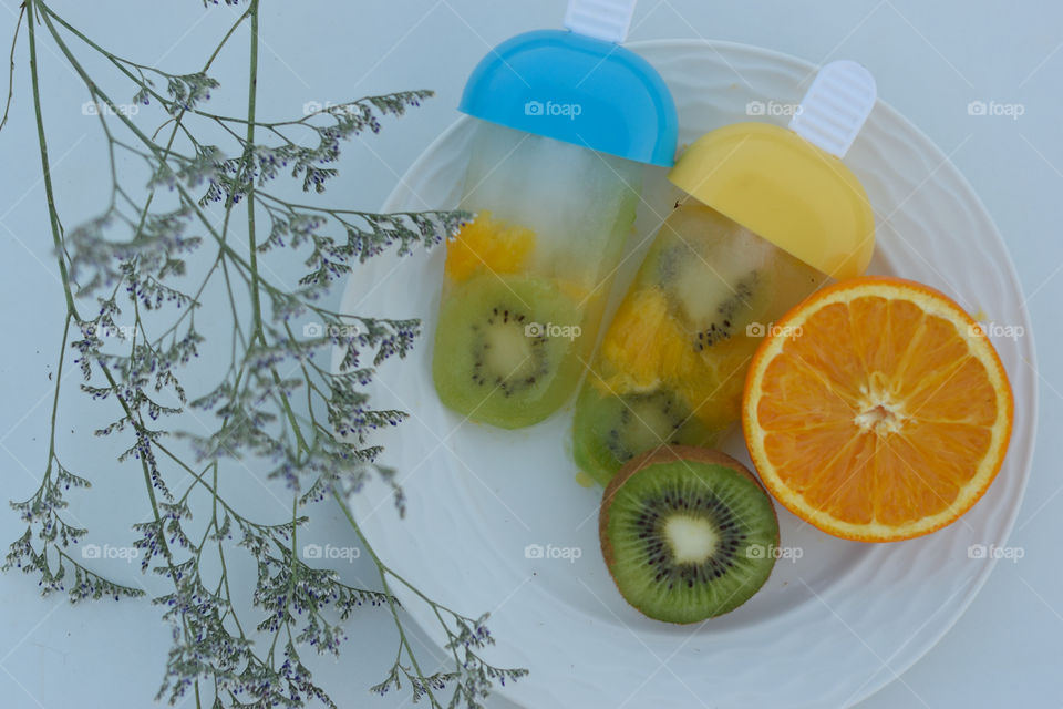 chilled fruits for summer