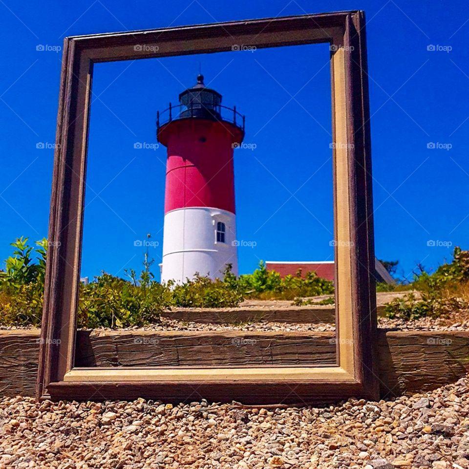 CapeCod's iconic lighthouse