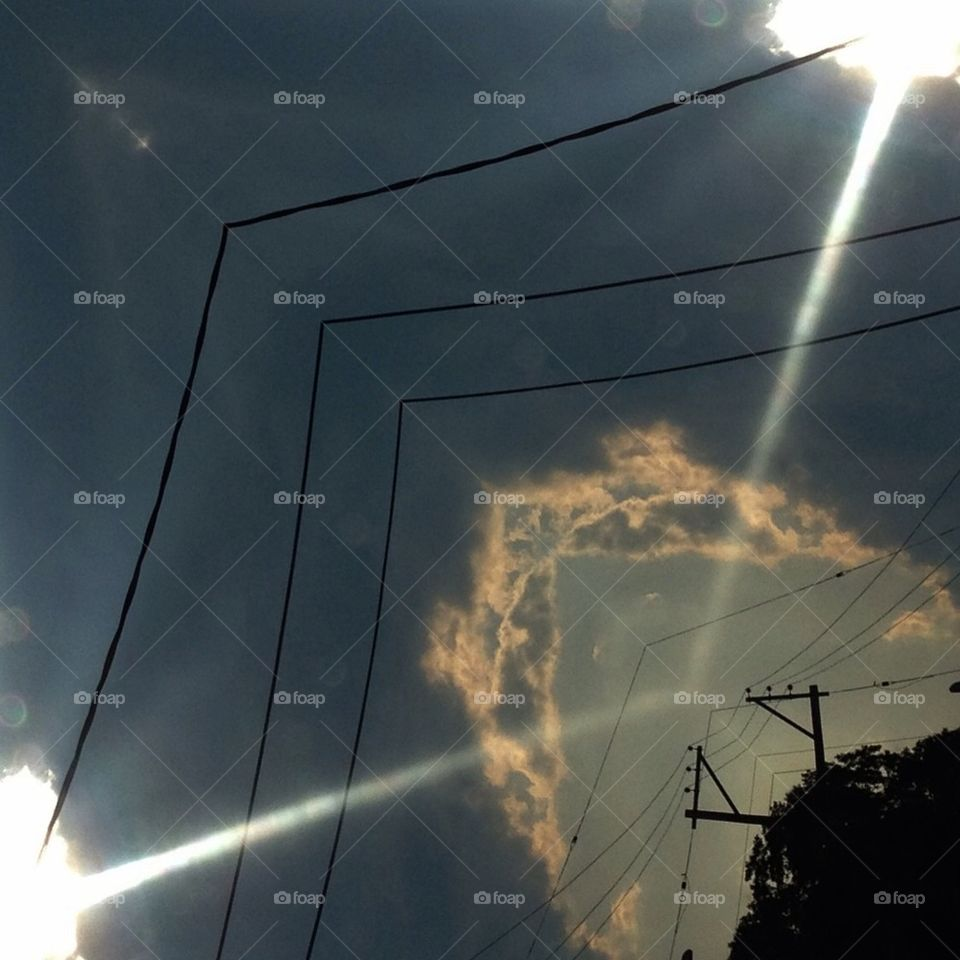 Mirrorgram Sky Reflection