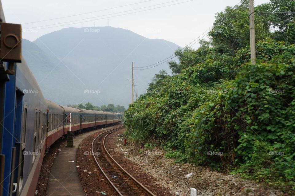 Locomotive, Railway, Train, No Person, Transportation System