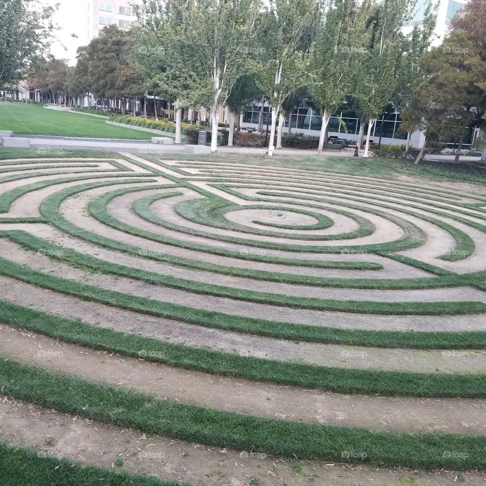 Target, Goal, Aim, Archery, Labyrinth