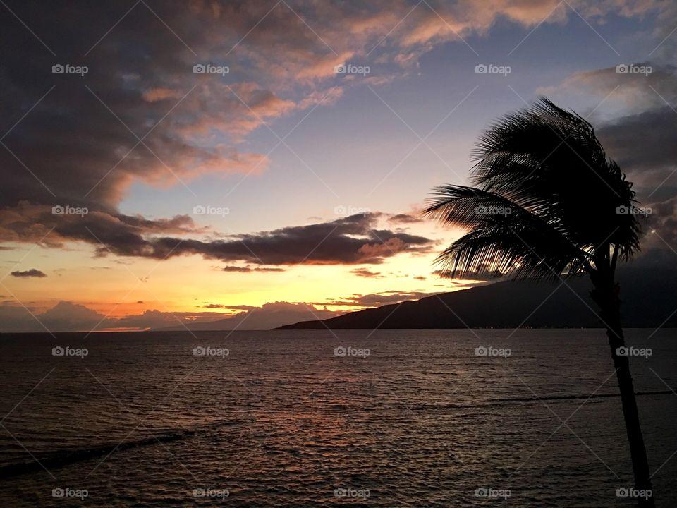 Hawaiian sunsets series