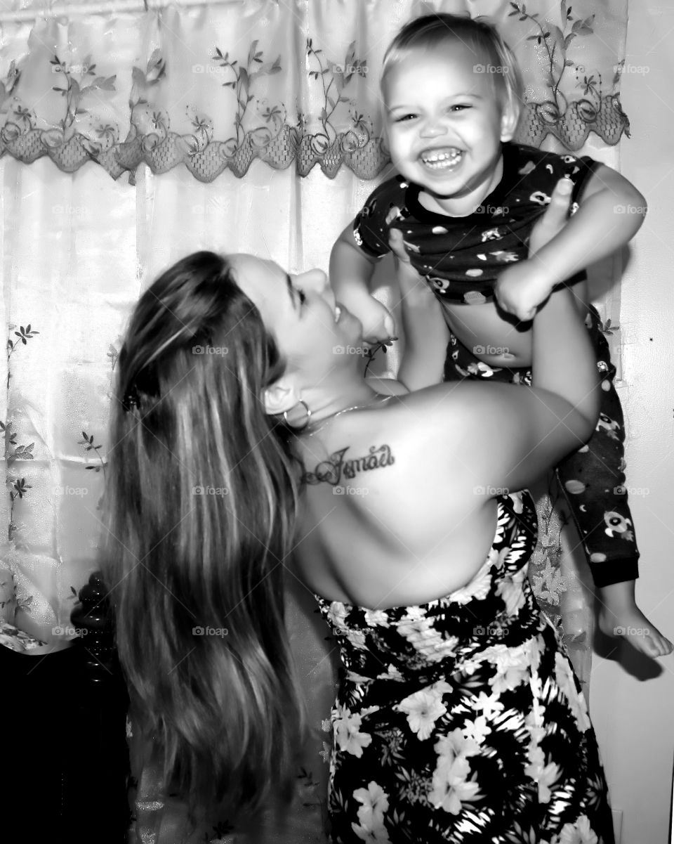 Love playing with mom before going to sleep
