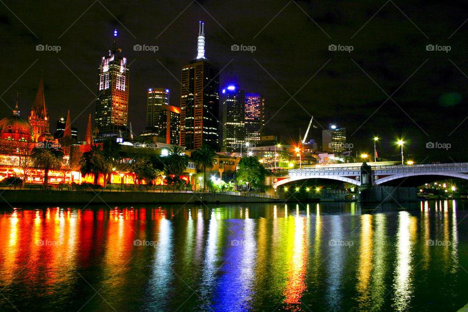 THE CITY OF MELBOURNE AUSTRALIA
