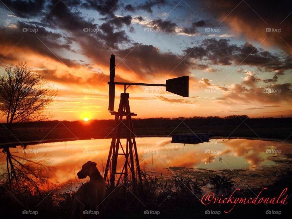 Sunset with Traka