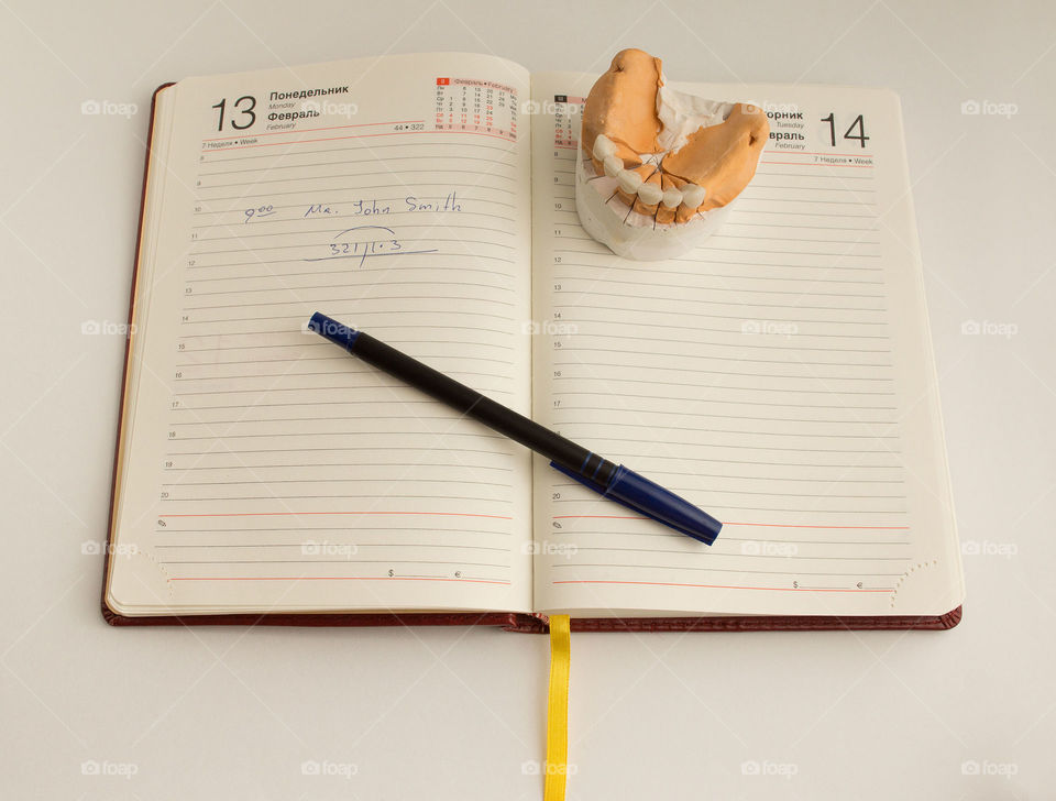 Dentist diary