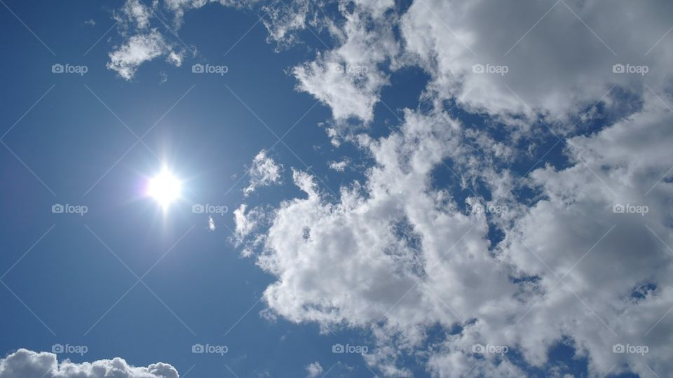Sunny clouds | sweden, sunny, weather, cloud