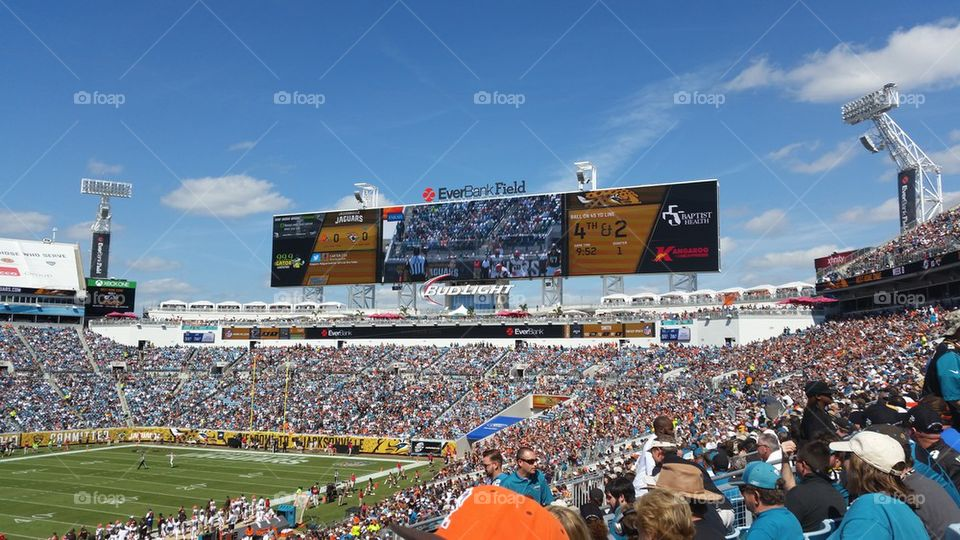 Jacksonville Jaguars Scoreboard