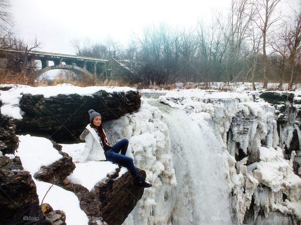 Chilling by the icy waterfall Pt. 3.5 Idk