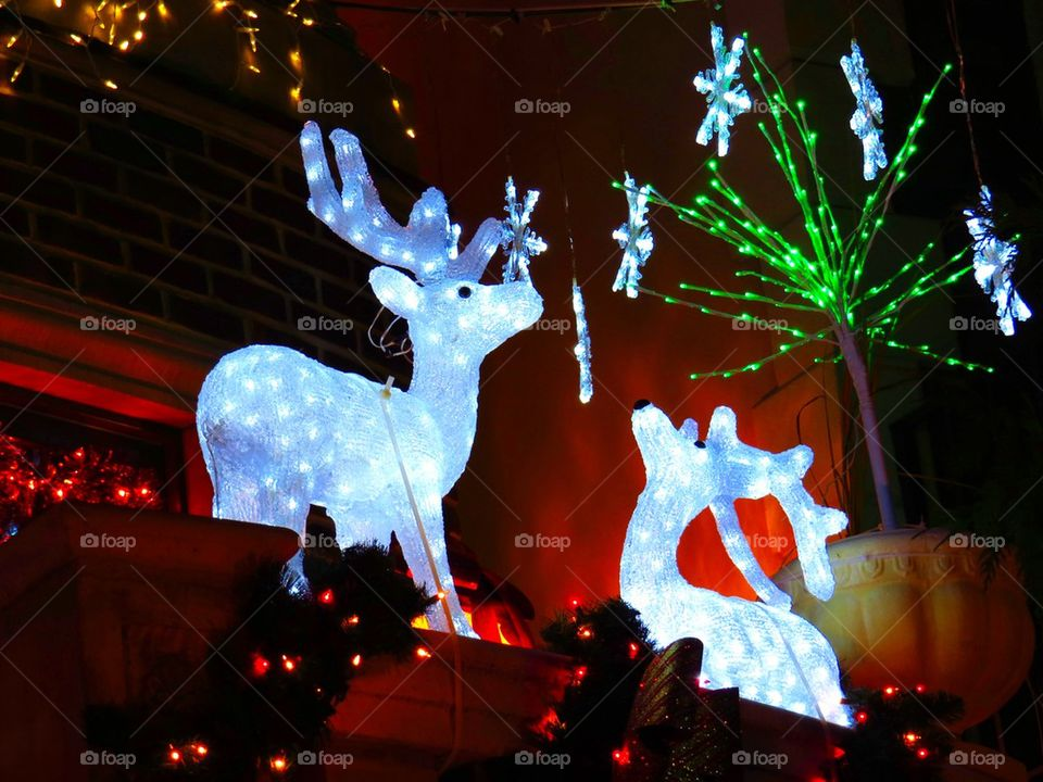 brooklyn united states general entertainment dyker heights xmas lights by Heliography