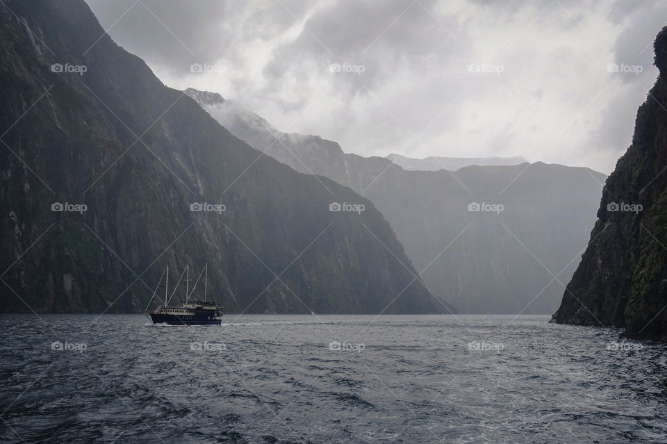 The wonderfully mystical Milford Sound, South Island, New Zealand