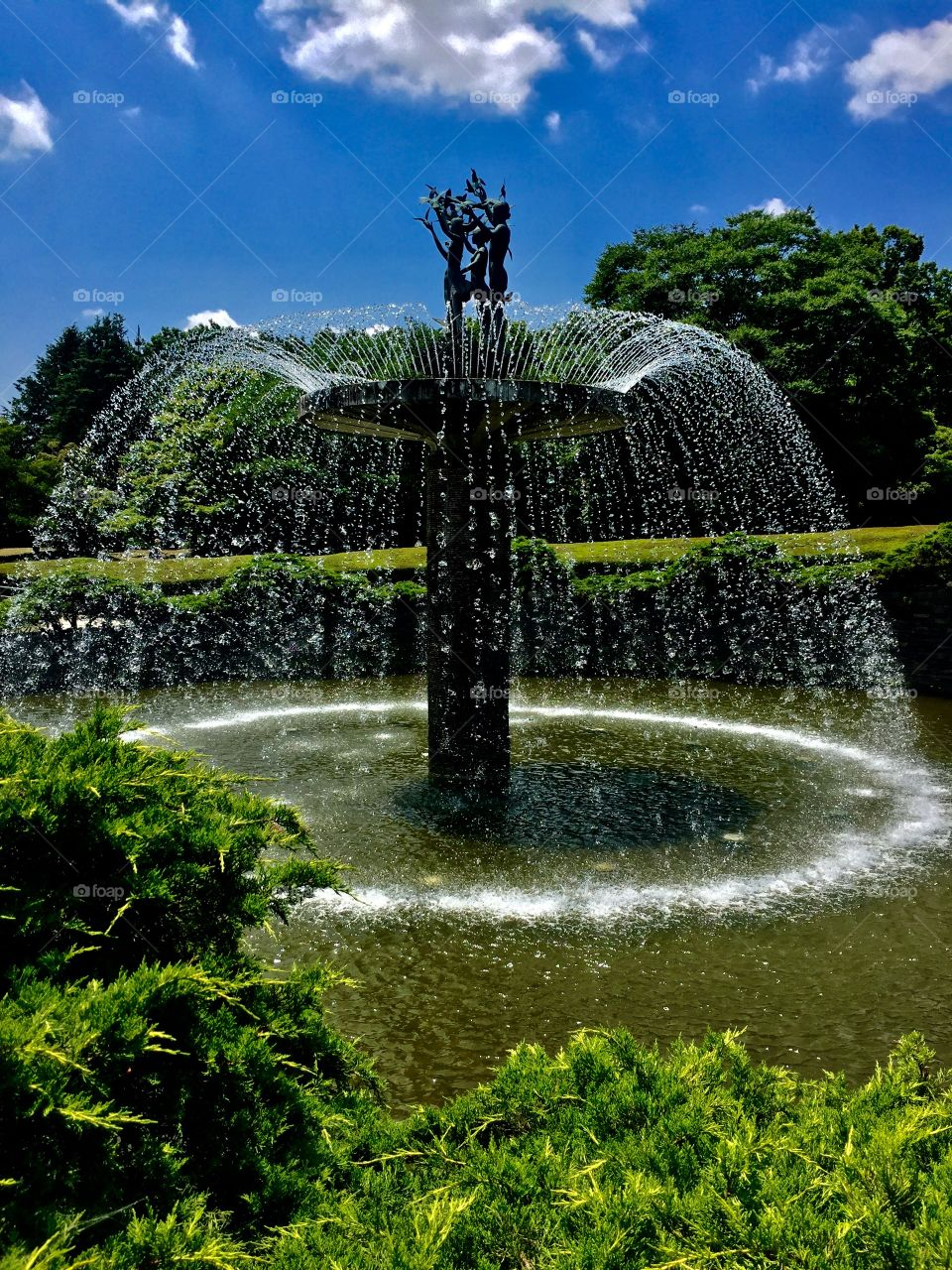 Ring of Water.  Showa Kinen Park.  Tachikawa , Japan