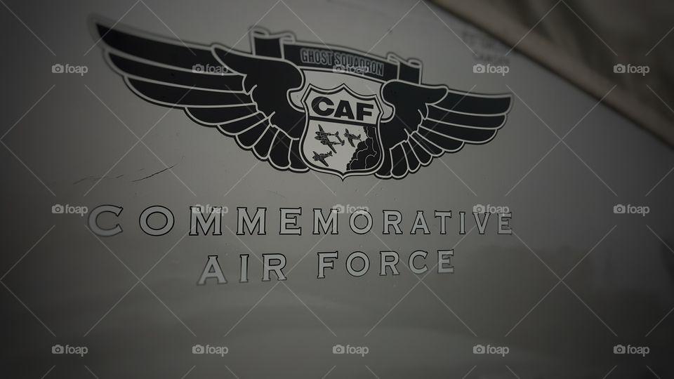 Retired war bird. local air show at Falcon field.