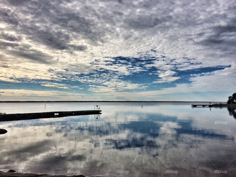 Reflections of the Baltic Sea, Kalmar, Sweden