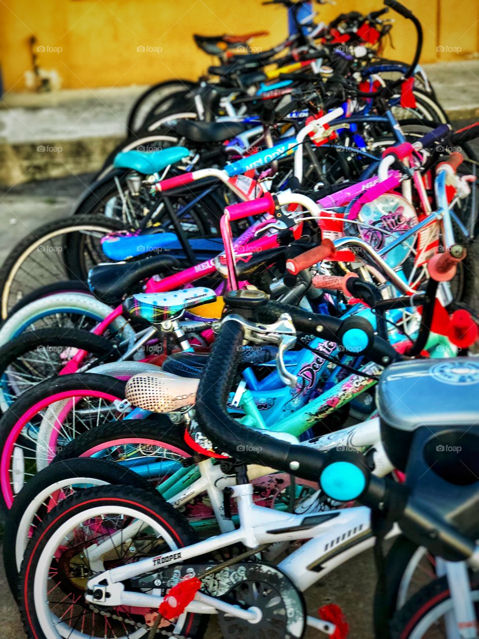 Colorful Bicycles!