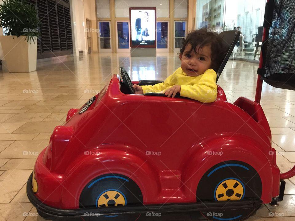 Child play car