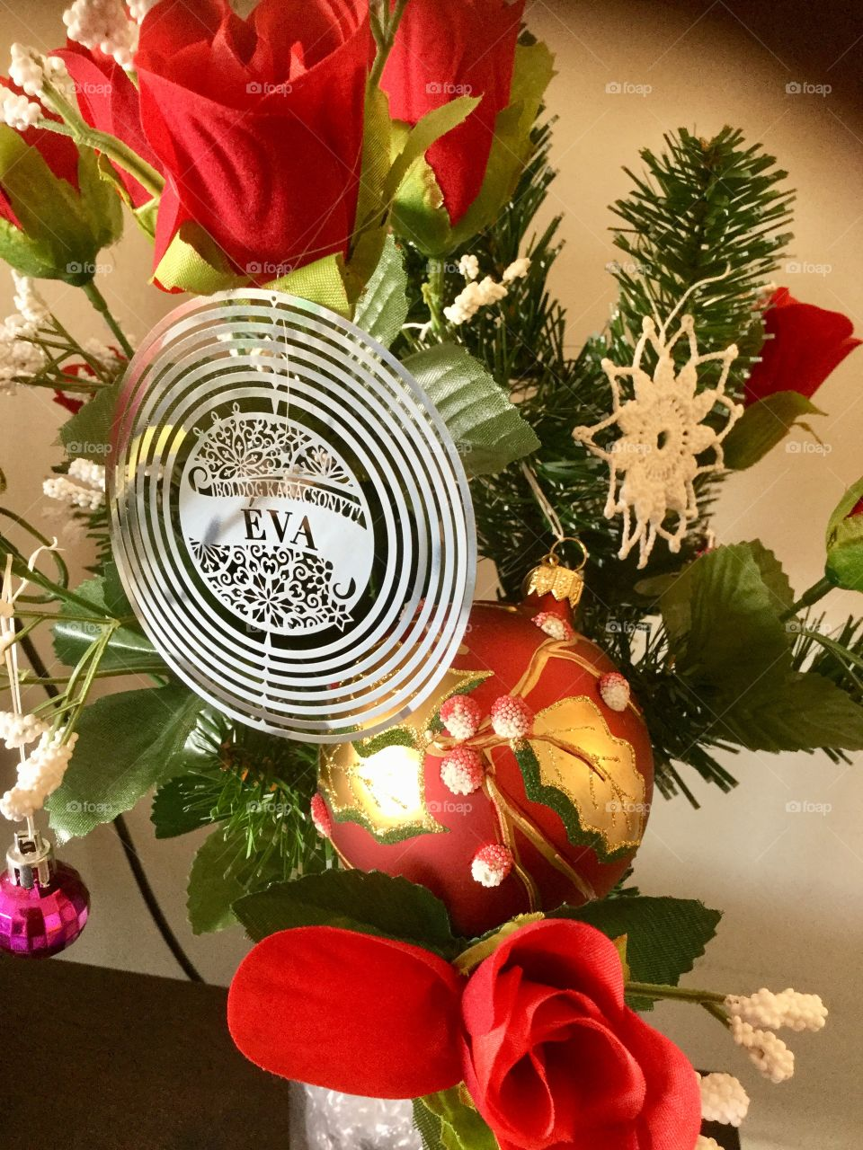 Christmas decoration and ornaments