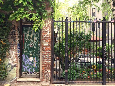 Secret Garden in the LES. Lower east side