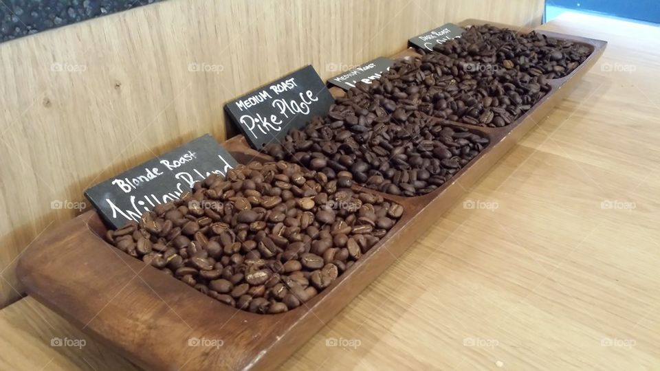 roasted beans | xanjo, coffee, image