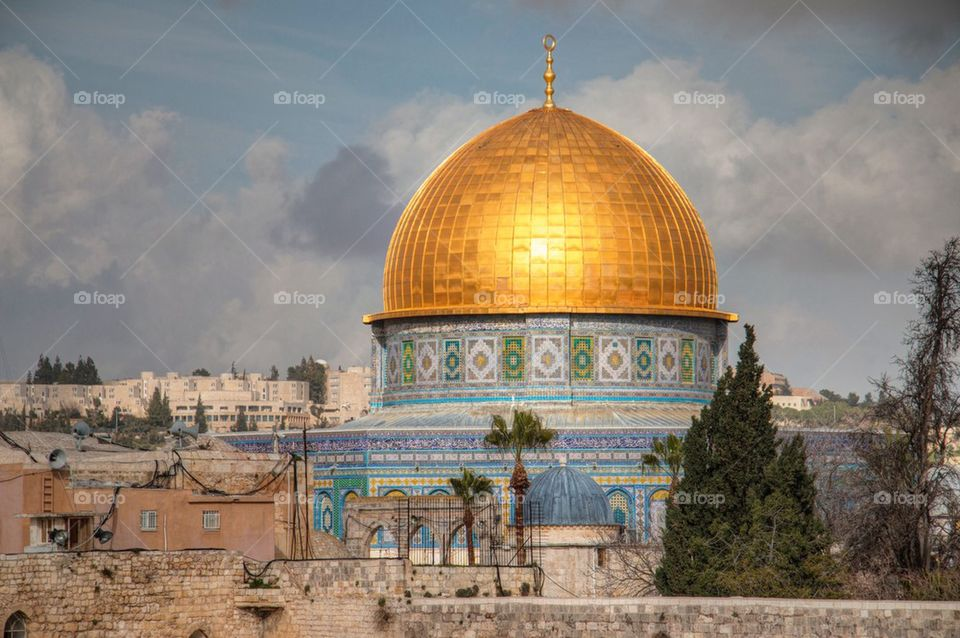 View of dome of the rock