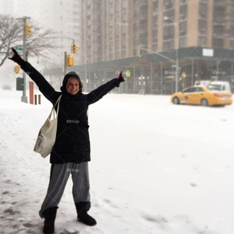 Snowstorm Jonas