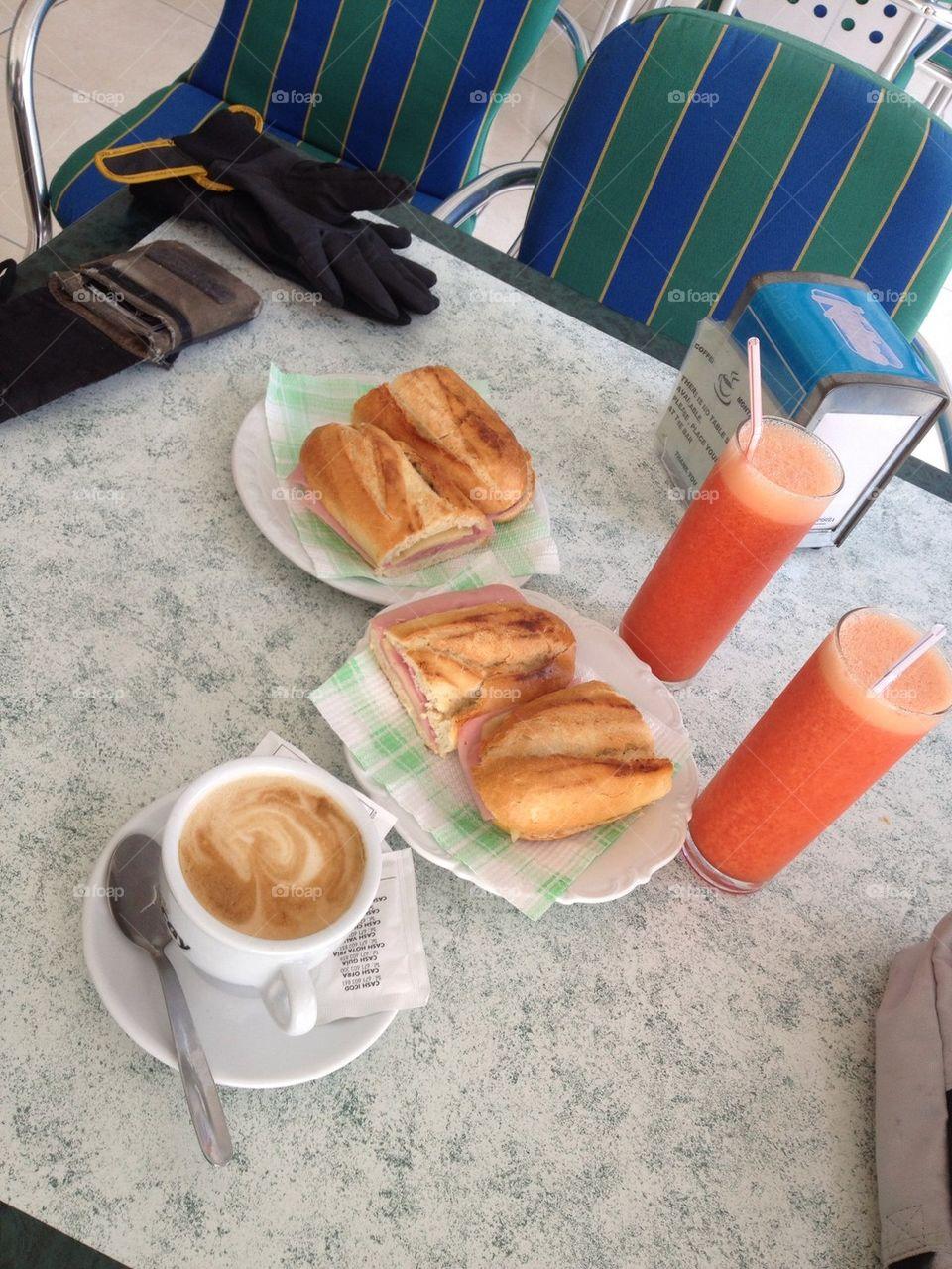 Breakfast in Tenerife