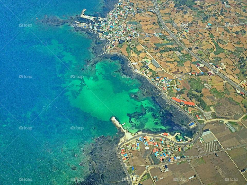 JEJU ISLAND SKY VIEW