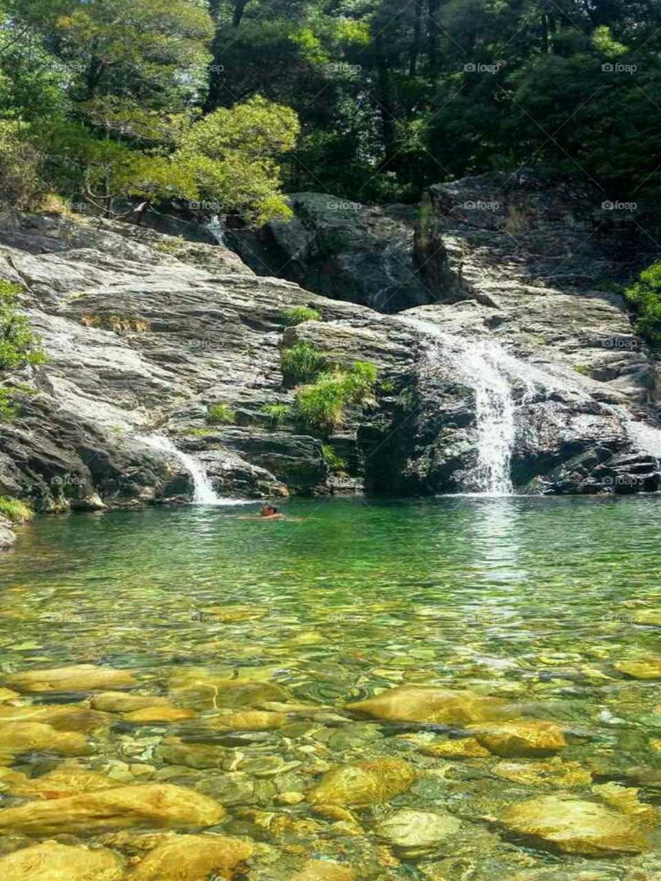Cascata do Pincho (Pincho waterfall), Viana do Castelo, Portugal