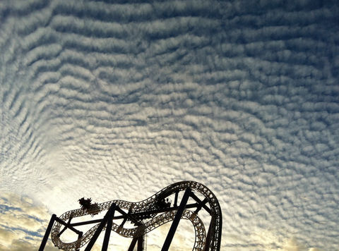 sky clouds fun park by miamania
