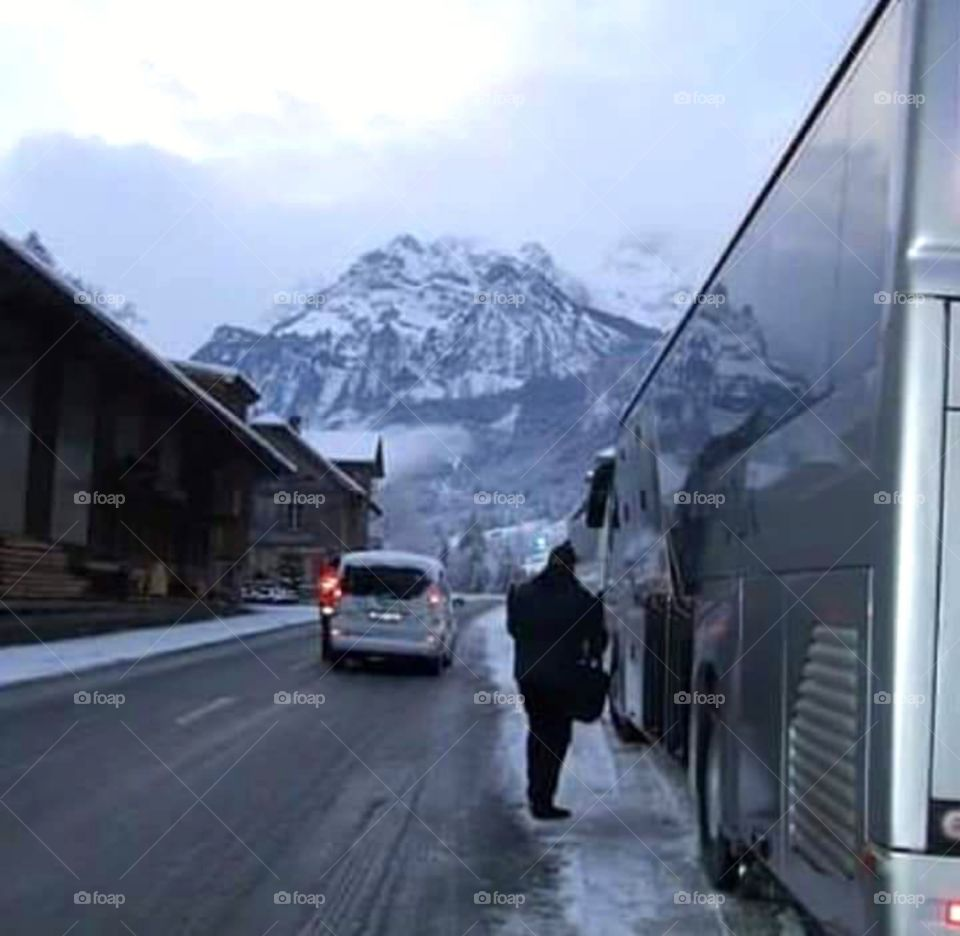 Road to Engelberg