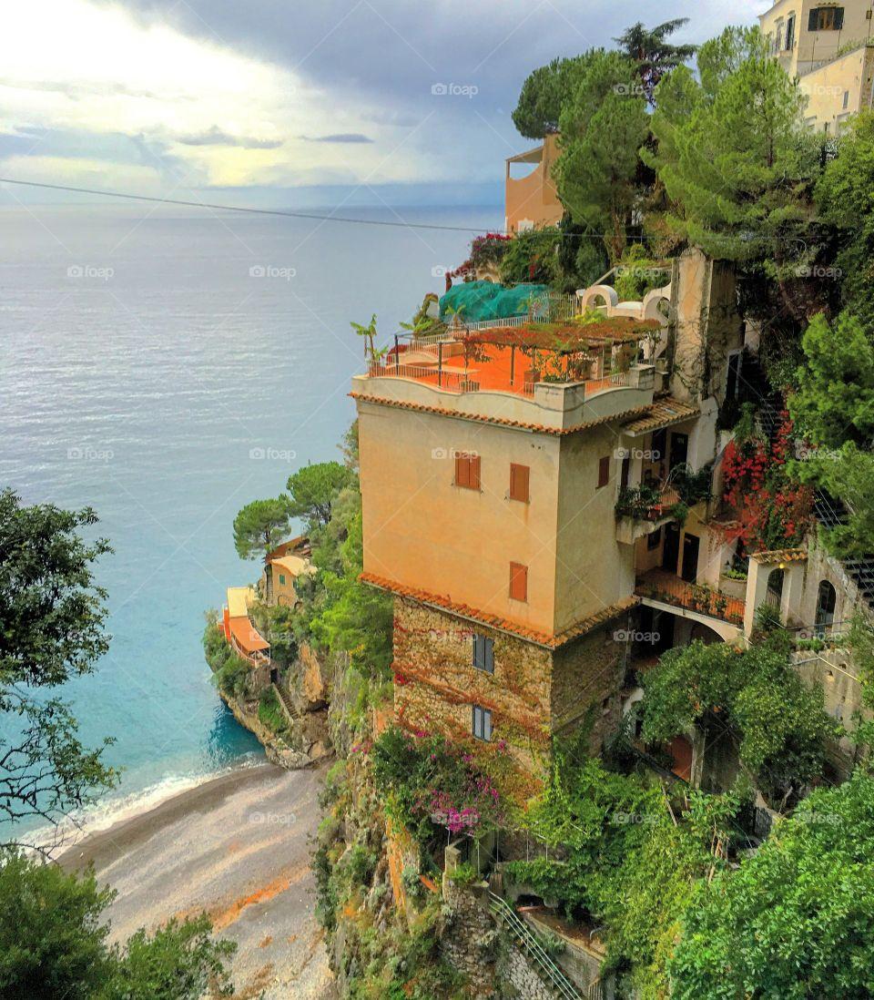 Amalfi coast home.