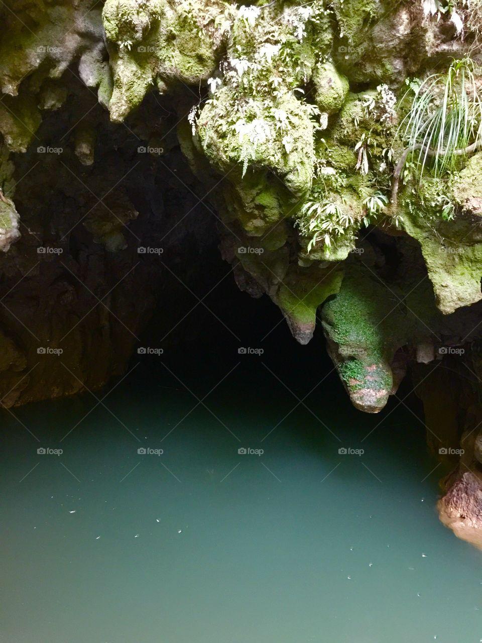 Underground river cave