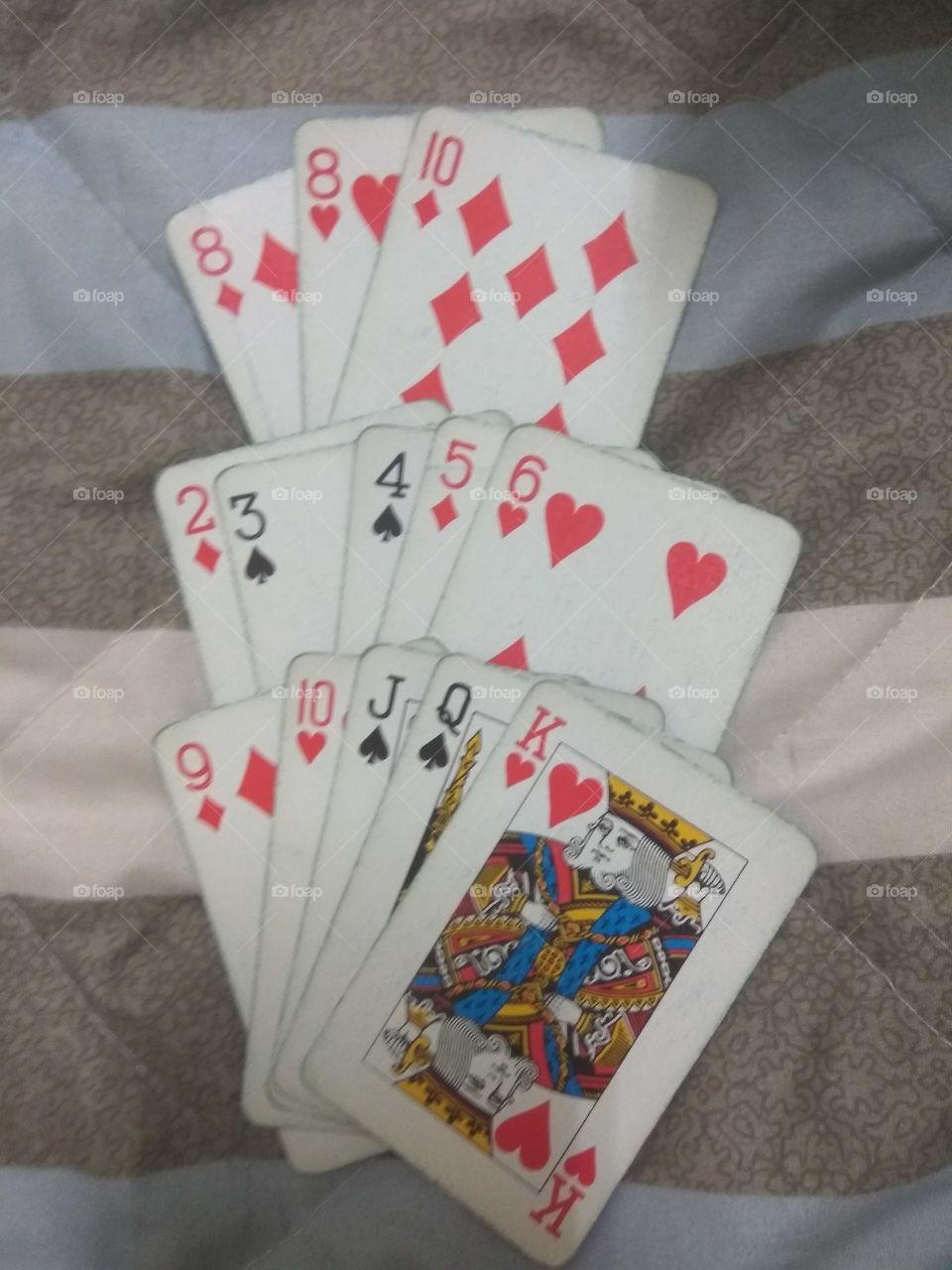 Chinese poker 7